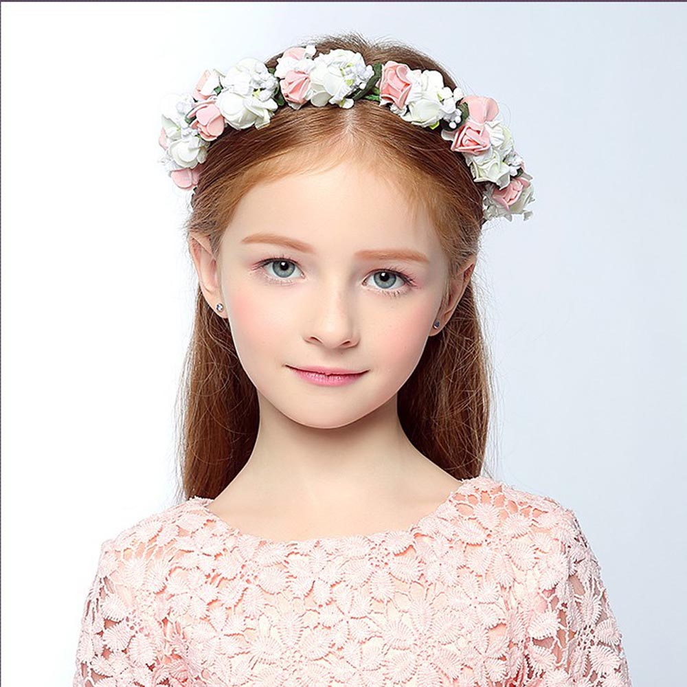 Ободок для волос, 1 шт., детский ободок для волос в цветочек