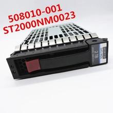 100% neuf dans la boîte 3 ans de garantie 2T SAS 3.5 pouce 6Gb 2 to 508010-001 ST2000NM0023 besoin de plus dangles photos, veuillez me contacter