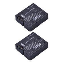 2 Pcs DS-SD20 SD20 DS SD20 Batterien für AEE Magicam SD18 SD19 SD20 SD21 SD22 SD23 SD30 Rollei 3 S action Sport Kameras