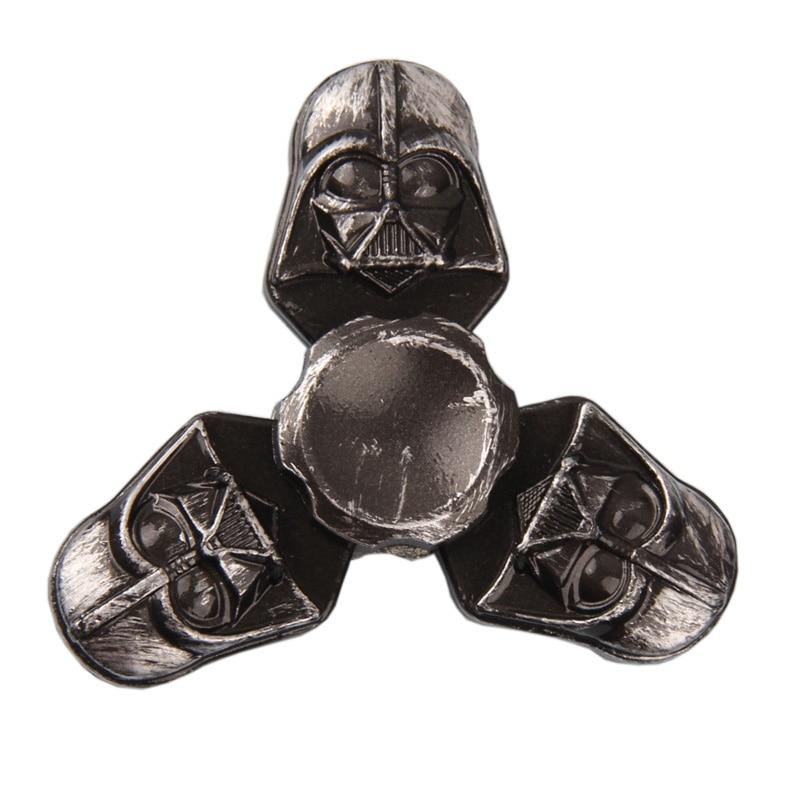 fidget spinner Star War Darth Vader & Pirates of the Caribbean Vintage Style Fidget Toys Hand Spinner Metal Finger Stress Relief