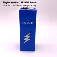 Nova versão super capacitor farad 2.8 v 3000f 161*56*56mm super capacitores para carro veículo fonte de alimentação automática