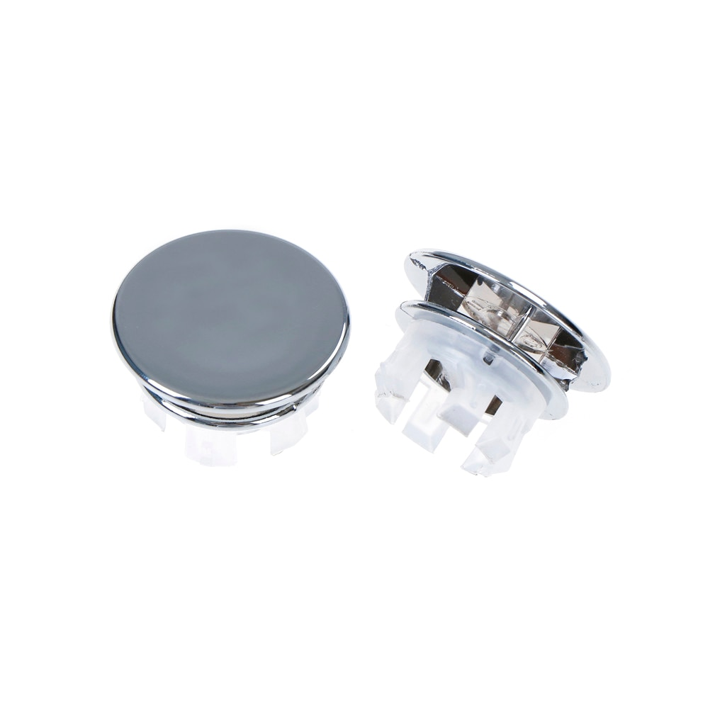 2 шт./лот раковина круглая крышка перелива Кольцо Вставка Замена Tidy хромированная отделка Аксессуары для ванной комнаты