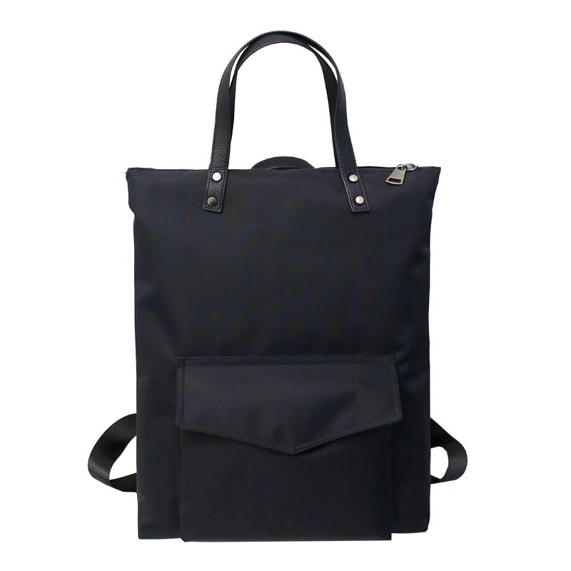 Mochila de Nylon para hombre y mujer, mochilas impermeables de viaje para niñas y niños, mochila negra para ordenador portátil, mochila, bolso de hombro de colegio
