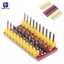 Diymore I2C IIC Module de convertisseur de niveau logique 8 canaux Module bidirectionnel pour Arduino passer de 3.3V à 5V
