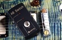 Joyo JF-30 AB interrupteur pédale effet guitare avec étui à pédale gratuit