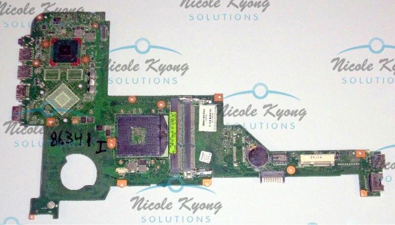 100% de trabajo 698093-501 integrado HM77 placa madre placa base para HP ENVY M4 M4-1000 serie