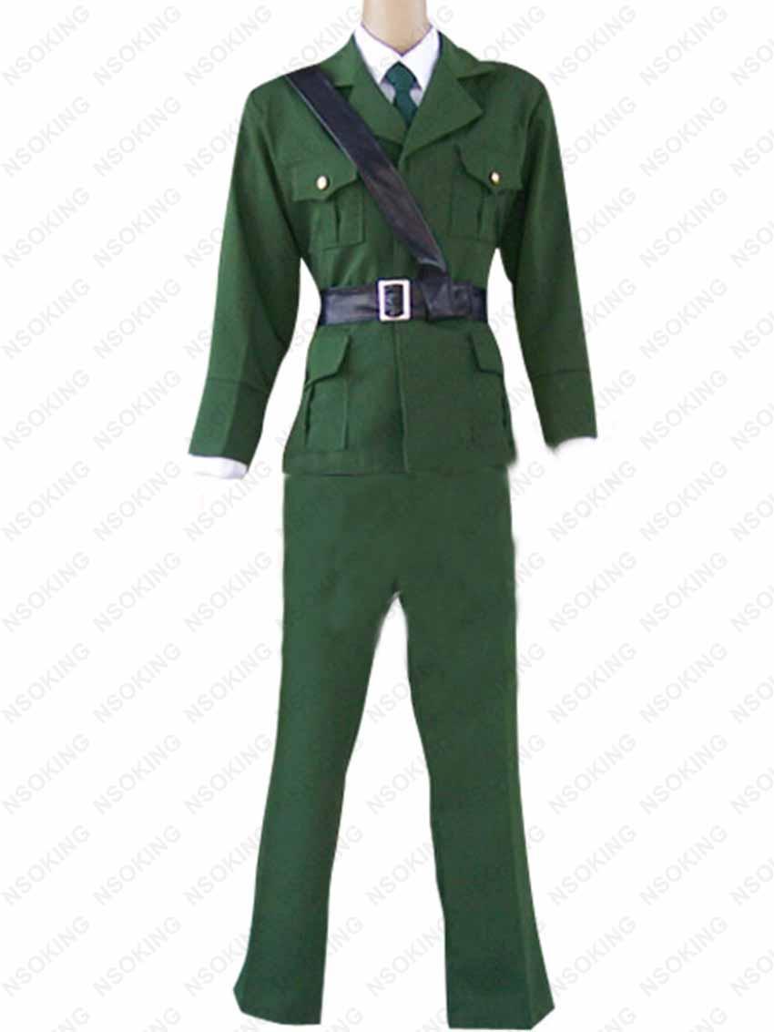 Anime Axis Powers APH Hetalia England Arthur Kirkland militär uniform Cosplay Kostüm Nach maß