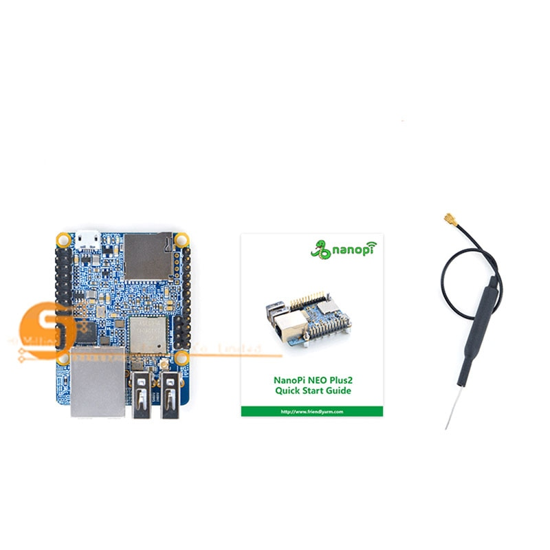 NanoPi NEO Plus2 H5 гигабитная IoT Плата развития WiFi Bluetooth