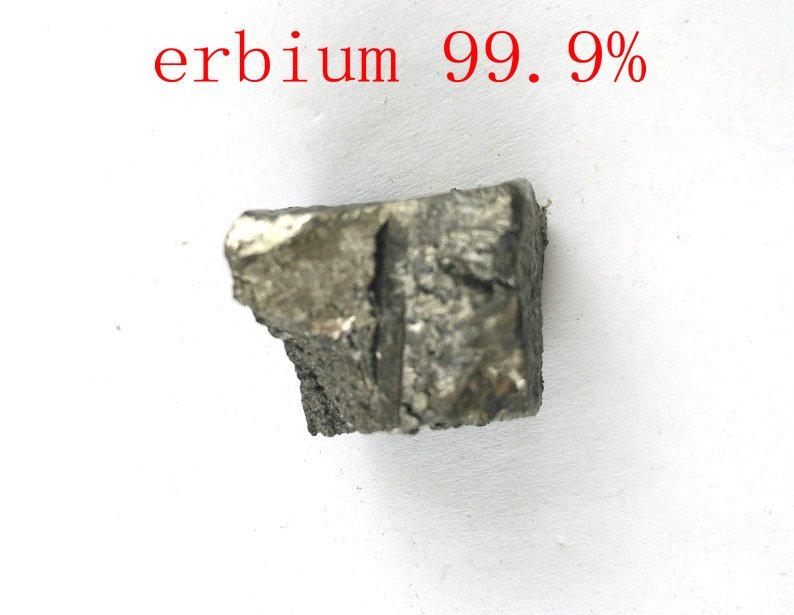30 gramos alta pureza 99.9% erbio Er Metal lumens