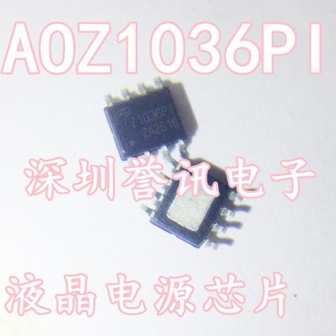 Aoz1036pi z1036pi novo original/chip lcd