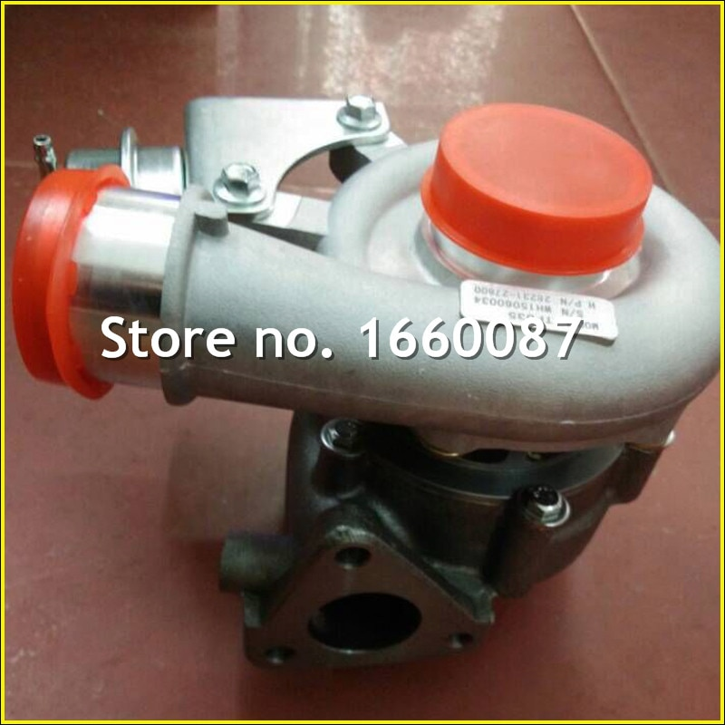 Turbina eléctrica 49135-07300 49135-07100 turbo turbocompresor para Hyundai Santa Fe CRDi D4EB