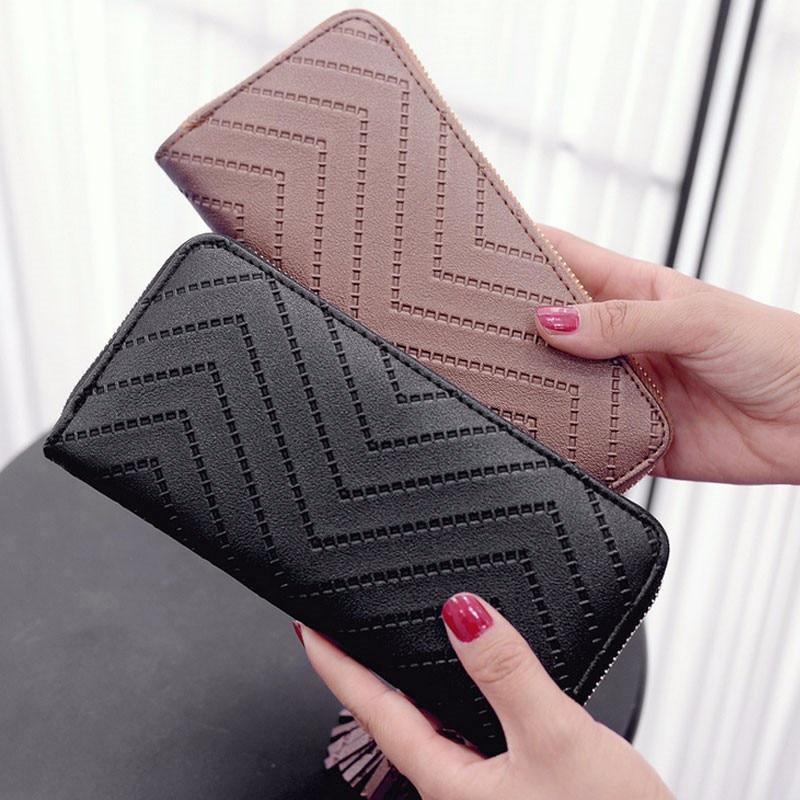 Long Wallet Women Purses Tassel Fashion Coin Purse Card Holder Wallets Female High Quality Clutch Money Bag PU Leather Wallets