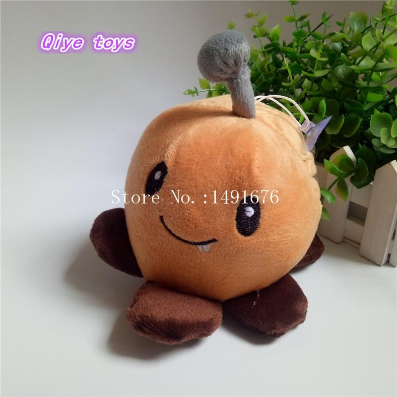 14cm Plant Vs Zombies Brown Potato Mine Plush Toys Dolls Stuffed Toy Kids gift