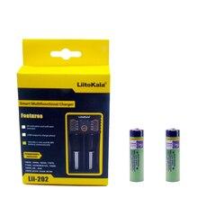 Liitokala 3.7 V 3400 mAh 18650 Li-ion batterie Rechargeable (sans carte PCB) Lii-202 USB 26650 18650 AAA AA chargeur intelligent