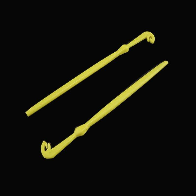 2 pçs kit de ferramentas de gancho de pesca knot picker e ganchos removedor desgorger peixe unhook extrator e loop tyer camada knotter ferramenta 2 pçs