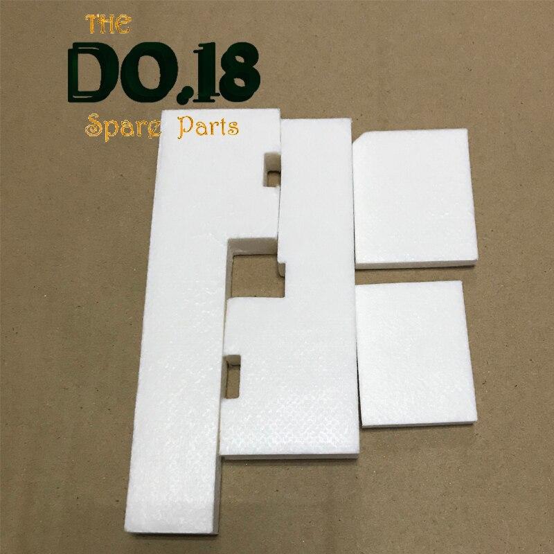 10 مجموعة الأصلي L301 عبوة حبر فارغة قطعة تنظيفٍ إسفنجية لإبسون L300 L303 L350 L351 L353 L358 L355 L111 L110 L210 L211 ME101 ME303 ME401