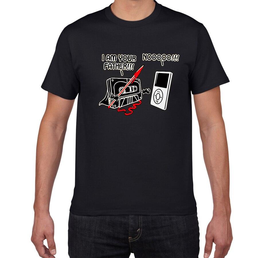 I am your father Sarcastic, новая забавная футболка с графической музыкой, Мужская хлопковая футболка с юмором, Мужская футболка, homme, мужская одежда