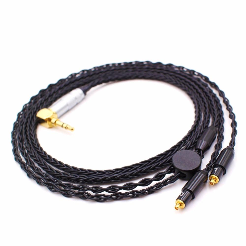 Free Shipping Haldane 1.2Meter DIY 8 Cores Headphone Upgrade Cable for SRH1440 SRH1840 SRH1540 Headphones enlarge