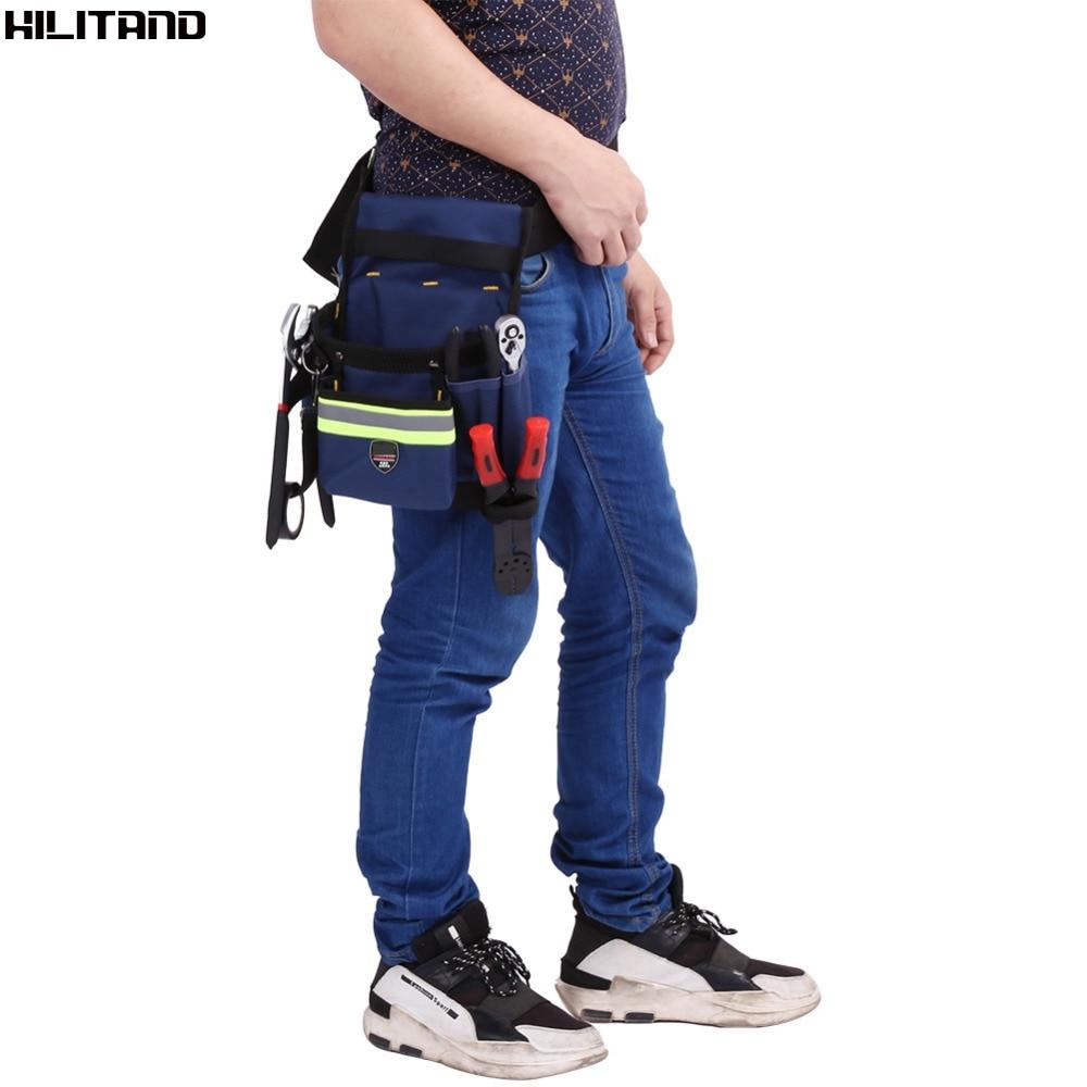 Bolsa de cintura para electricista, bolsa organizadora de trabajo con cinturón