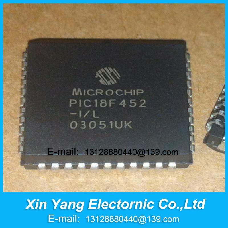 NEW ORIGINAL PIC18F452-I/L PIC18F452 18F452-I/L PLCC IC Free shipping