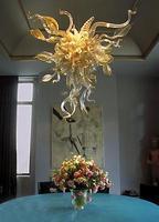 Style LED Lights CE UL Certificate 100% Blown Glass Art Deco Murano Glass Lighting Chandelier