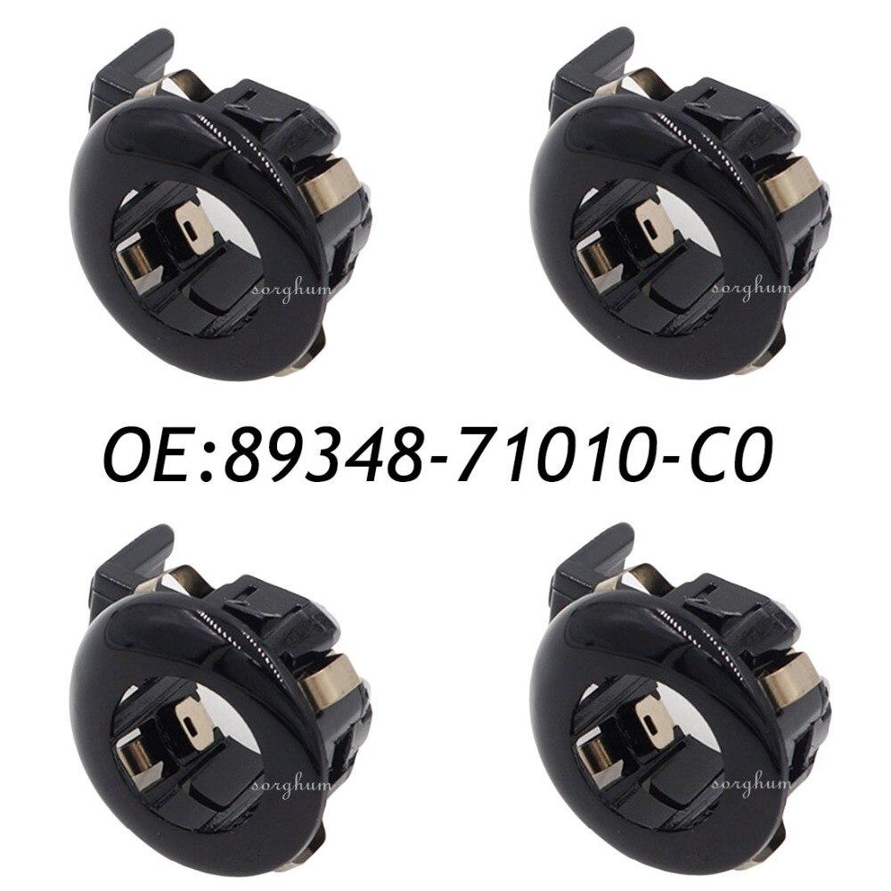 4 piezas 89348-71010-C0 89348-71010 aparcamiento PDC Sensor retenedor para Toyota Land Cruiser Sienna