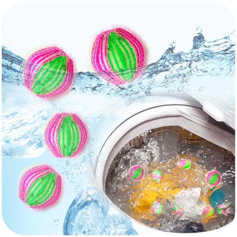 Экологичный волшебный шарик для белья, 6 шт./упак., для личной гигиены, для мытья волос, для дома