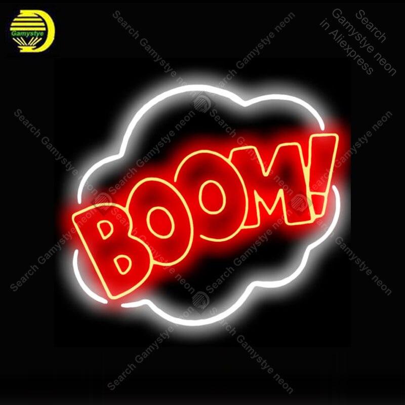 النيون علامة هدية الطفرة! رمز Affiche-مصباح ديكور لغرفة الحفلات ، ضوء وامض ، إعلان ، شحن مباشر