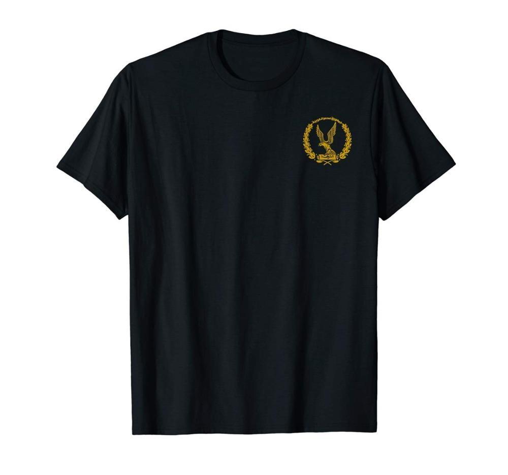 Egito polícia nacional camiseta dupla face verão 2019 algodão moda masculina rua wear fino estilo apto aptidão marca filme t camisa