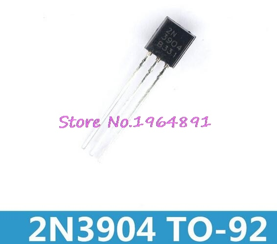 100 unids/lote 2N3904 3904-92 en Stock