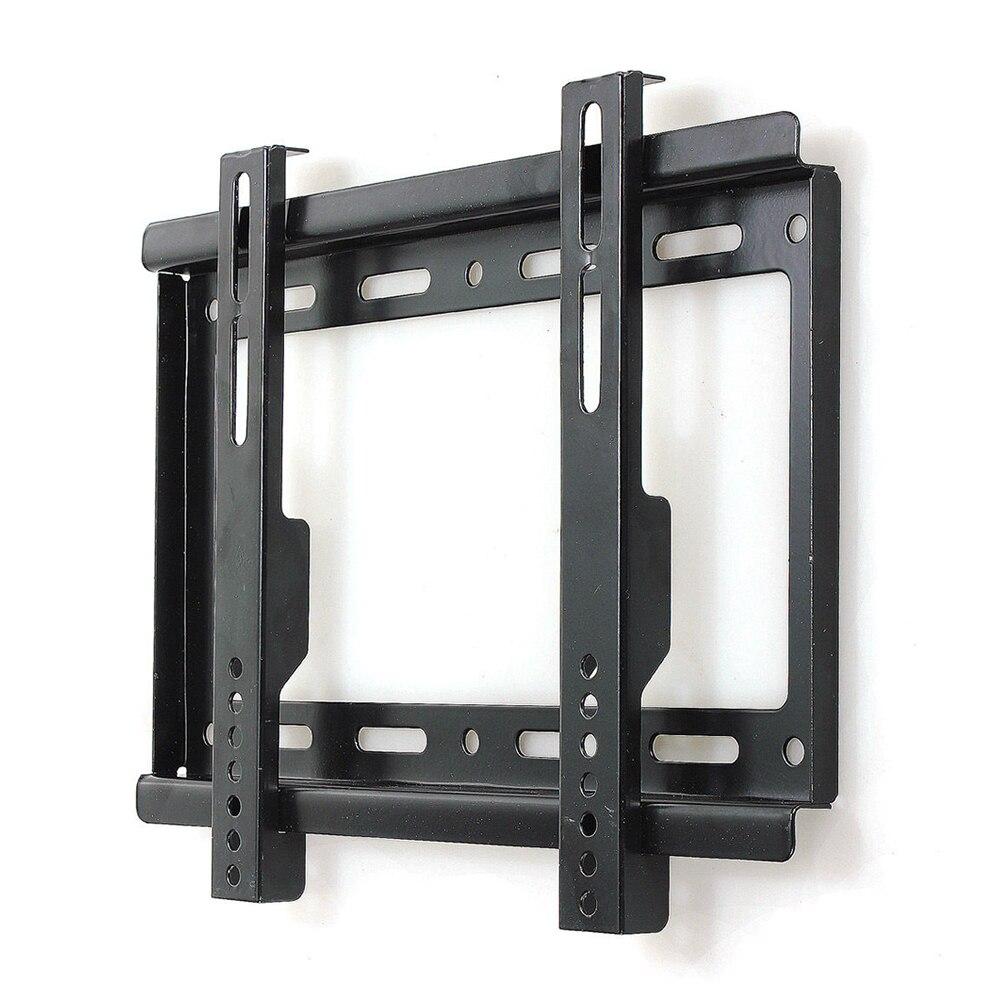 Soporte de montaje en pared de TV Universal de 25KG marco fijo de soporte de TV de Panel plano para Monitor LED LCD HDTV de Plasma de 14-32 pulgadas