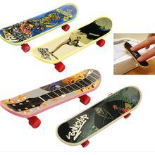 Promotion enfants Mini doigt Scooter outil touche Skate embarquement jouets mignon fête cadeau pour les enfants aléatoire envoyer