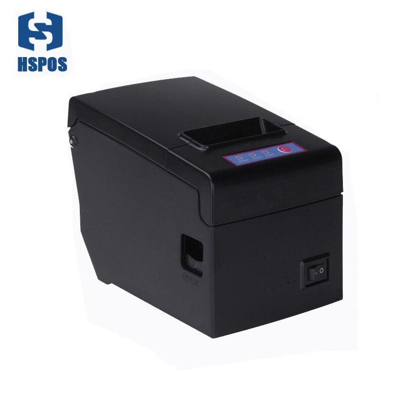 RS232 serail puerto pos58 impresora pos térmica para la factura de venta soporte de impresión esc/pos comandos HS-E58S