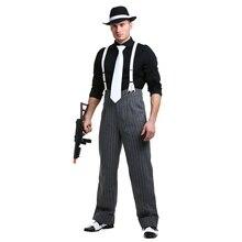 Costume de Gangster Style homme Mafia 1920