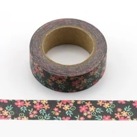 1pc colorful small flowers decorative washi tapes paper diy scrapbooking adhesive masking tapes 10m school office supply