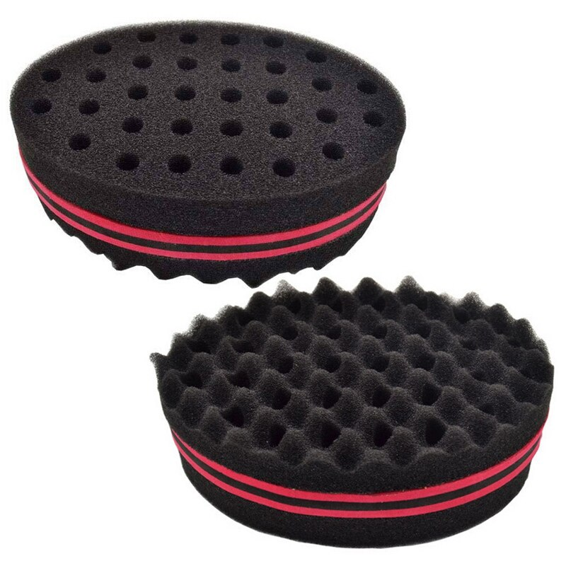 Hot New Style Magic Hair Twist Sponge Dreads Twisting Locks Dreadlocks Curl Brush Sponge Barber Hair Brushes Hair Rollers