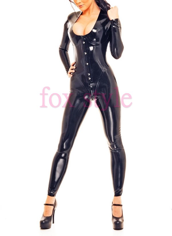 New Arrivals rubber latex straitjacket  leotard tights with Corset  all-in-one