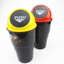 for Universal car trash can car storage box auto parts for Mazda 2 3 5 6 CX5 CX7 CX9 Atenza Axela