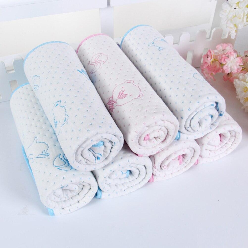 Colchón impermeable reutilizable para bebés y niños, 1 Uds., colchoneta que cambia de pañales, lavable y transpirable, 2 colores