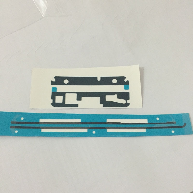 1set/lots LCD Supporting Frame Adhesive Sticker + Back Battery Cover Waterproof Adhesive Sticker for