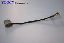 Adaptateur prise dalimentation cc câble adaptateur   1 pièce, compatible avec HP S57 15-af adaptateur série C125 ordinateur portable, port de prise cc