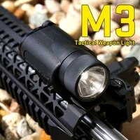 tactical accessories helmet light m3 led flashlight weapon light 20mm optics airsoft accessories hunting equipment gz15 0018
