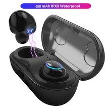 Écouteurs Bluetooth sans fil écouteurs intra-auriculaires écouteurs sport casque TWS avec micro pour xiaomi samsung iphone ecouteur sans fil