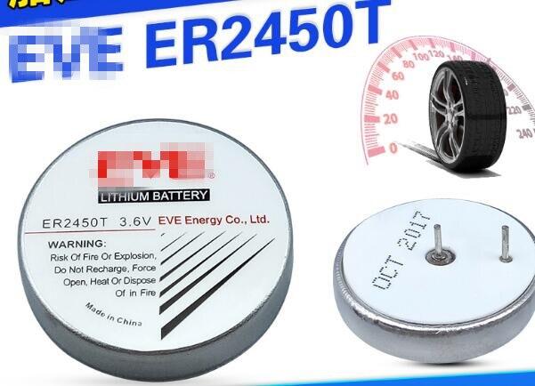 2 PCS ER2450T TLH-2450 universal botão bateria 3.6 V bateria de controle fiscal ER2450
