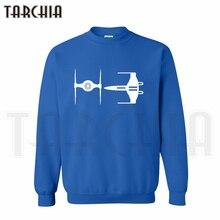 TARCHIA 2019 X-Wing Starfighter Falcon skateboard hoodies sweatshirt personalized men casual parental survetement homme marque