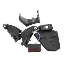 Porte-étiquette pour Honda CBR600RR F5   2005-2006, couvercle de protection latéral de léchappement, plaque dimmatriculation de laile arrière, porte-étiquette avec CBR 600RR