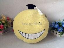 Assassination Classroom Koro-sensei Pillow 100% Handmade Plush Toy Cosplay Props 32cm