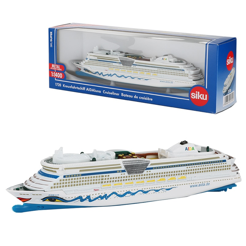 Siku 1:1400 модель лодки из сплава, игрушечный Круизер, для военных кораблей, детская коллекция забавных игрушек