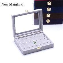 Nouvelle mode bijoux affichage cercueil/bijoux organisateur pendentif boîte/étui pour bijoux cadeau boîte bijoux boîte livraison gratuite