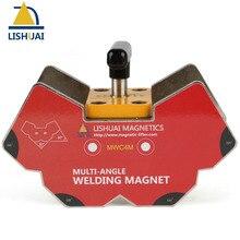 Support magnétique commutable multi-angle   Interrupteur marche et off, forte puissance, pince à aimants de soudage NdFeB grande taille